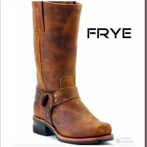 FRYE Men's Harness 12R Motorcycle Boots